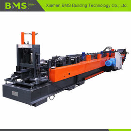 16 Forming Station CZ płatwi Roll Forming Machine / Steel Frame Making Machine